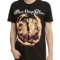 Three Days Grace Clock T-Shirt