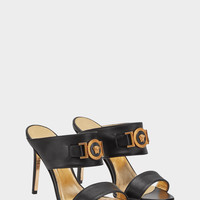 Versace Icon Leather Sandals for Women | US Online Store