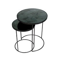 Ethnicraft Nesting Side Tables - Set of 2