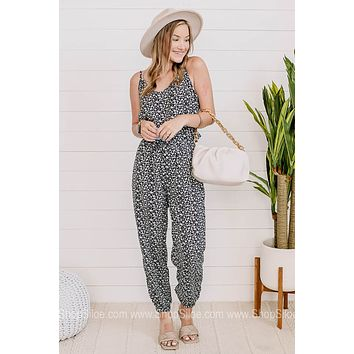 Jump Straight In Floral Jumpsuit