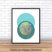 Geometric Poster, Scandinavian Poster, Minimalist poster, Abstract, Modern Poster, Pattern abstract. Print Poster