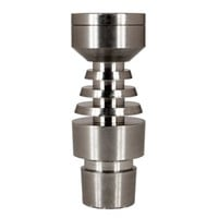 Formax420 Patent Bowl Structure Grade2 Ti Nail Fit for 14mm&18mm&19mm Female Joint
