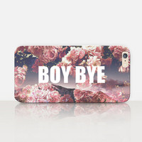 Boy Bye Phone Case For - iPhone 6 Case - iPhone 5 Case - iPhone 4 Case - Samsung S4 Case - iPhone 5C - Tough Case - Matte Case - Samsung