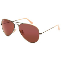 Ray-Ban Aviator Flash Lenses Sunglasses Flash Red One Size For Men 25604034901