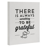 Allyson Johnson Something To Be Grateful For Art Canvas