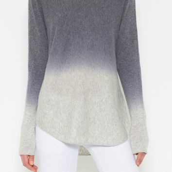 Lila Fate ombré sweater grey