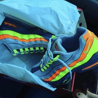 KUYOU AIR MAX 95 ORANGE NEON GREY