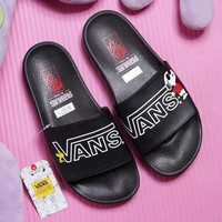 Vans x Peanuts Casual Simple Sandal Slipper Shoes