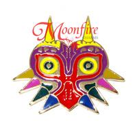 THE LEGEND OF ZELDA Majora's Mask Pin Badge