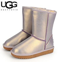 UGG winter warm long snow boots #8