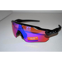 Oakley Radar EV Path Prizm Trail Sunglasses OO9208-04 Polished Black/Prizm Trail