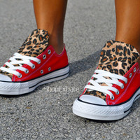 Hot Cheetos- Cheetah Converse