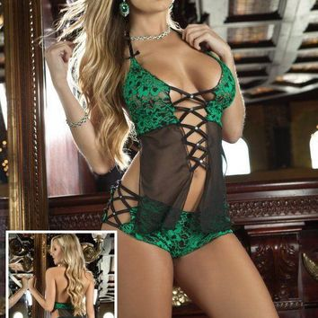 Hot Deal On Sale Cute Sexy One-piece Exotic Lingerie [6596919363]