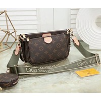 Louis Vuitton LV Crossbody Shoulder Bag Set Ordinary quality-6