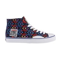 Vision Street Wear Womens Canvas Hi (Print) Shoes Womens Shoes at 7TWENTY Boardshop, Inc