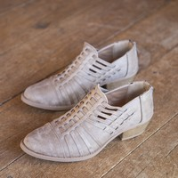 Sochi Zip Back Strappy Shoe, Taupe