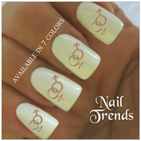 Nail Decal 20 Sex Symbols Signs Vinyl Stickers Nail Art Stocking Stuffer