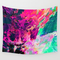 Eudokía (Abstract 42) Wall Tapestry by Dorian Legret