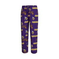 Minnesota Vikings Mens Slide AOP Knit Pants
