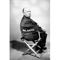Alfred Hitchcock Poster Director'S Chair 11x17 Mini Poster
