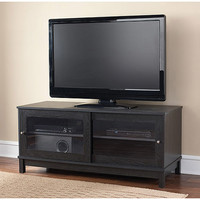 """Walmart: Mainstays TV Stand for TVs up to 55"""", Multiple Finishes"""