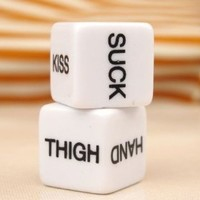 Sex Dice Game Toy for Bachelor Sex Party Fun Adult Sweethearts/Couple Toys-a Pair