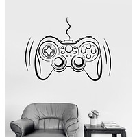 Vinyl Wall Decal Video Game Gamer Joystick Player Teen Room Stickers Unique Gift (994ig)