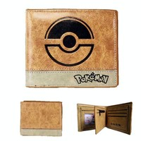 Pokémon Bifold Wallet with Poké Ball Engraving