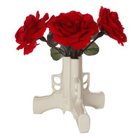 Gun Flower Vase | Ceramic Pistol Vase Uses Weapon to Make Peaceful Statement