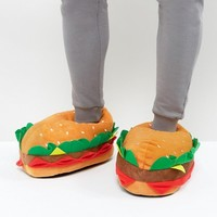 ASOS Burger Slippers at asos.com