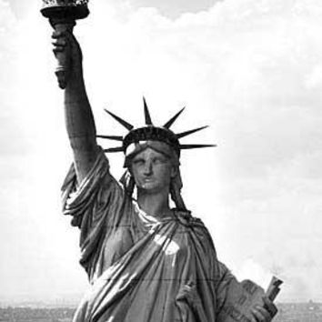 New York City Statue of Liberty Fine Art Print