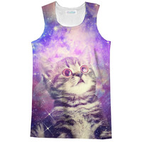 Trippin' Kitty Kat Racerback Tank Top