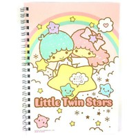 Sanrio Little Twin Stars College Spiral Stripe Notebook $5.49