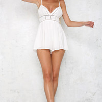 Together Now Playsuit White