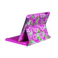 PRE SALE - AVAILABLE NOVEMBER 1st - Lilly Pulitzer - Bluetooth Keyboard Case for iPad - First Impression