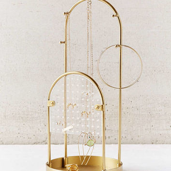 Alma Tabletop Jewelry Storage   Urban Outfitters