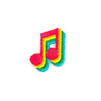 Music Notes Mini Sticker Patch