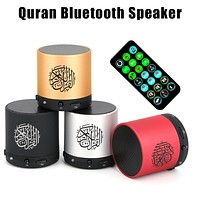 Rondaful Mini Pocket Quran Wireless Player Speaker With 19 Languages Reciter 8GB Support
