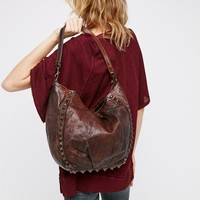 Free People Delphina Distressed Tote