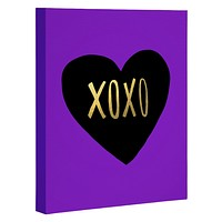 Leah Flores I Love You Like XO Art Canvas