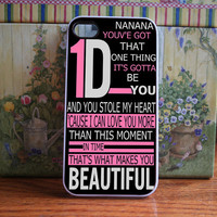 One direction - iPhone 4S and iPhone 4 Case Cover