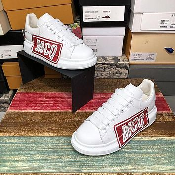 Alexander McQueen Classic white shoes-28