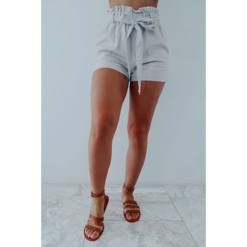 Such A Cutie Shorts: Grey