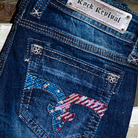 ROCK REVIVAL RIANNA BOOTCUT JEANS