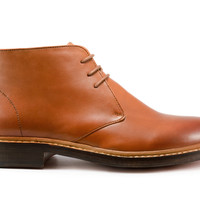 Goodyear Welted Bailey Chukka Boot - Burnished Tan