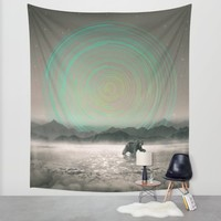 Spinning Out of Nothingness Wall Tapestry by Soaring Anchor Designs | Society6