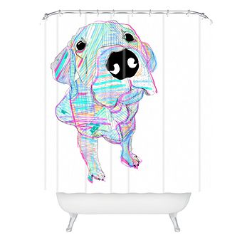 Casey Rogers MultiLab Shower Curtain