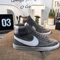 Men's and women's cheap nike shoes Nike Blazer Mid