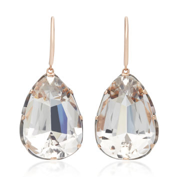Pear Shape Quartz Earrings | Moda Operandi