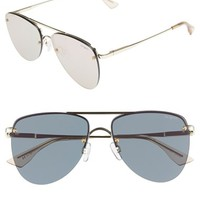 Le Specs 'The Prince' 57mm Sunglasses | Nordstrom